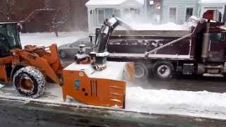 preview picture of video 'Snow Removal- Hudson, NY'
