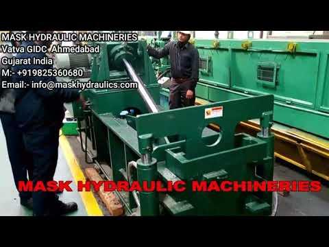 Double Action Scrap Baling Machine Auto Door