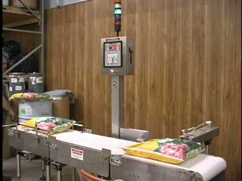 Model HW-15 Checkweigher | Product Test Video | All-Fill Inc Model HW-15
