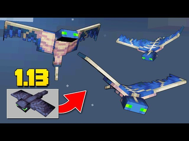 NEW Phantom Mob, TREASURE MAPS, Tropical Fish Minecraft 1.13 Snapshot Update