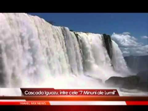 """Cascada Iguazu, între cele """"7 Minuni ale Naturii"""""""
