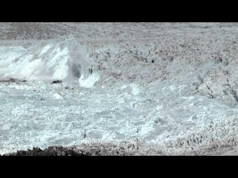 Největší natočené telení ledovců