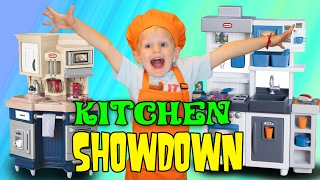 Kitchen Playtime Challenge - Pretend Food Competition