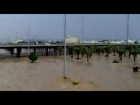 امطار جدة يوم الأربعاء 08-12 طريق مكة القديم كيلوو 10