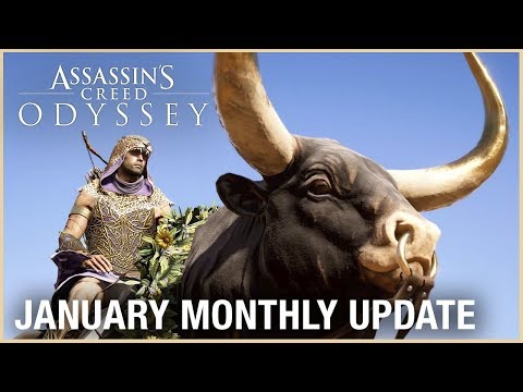 Assassin's Creed Odyssey: January Monthly Update | Ubisoft [NA]