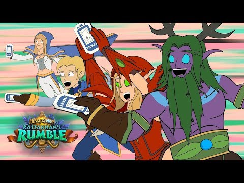 Rastakhan's Rumble: Ticket to Greatness - a Hearthstone Animated Series