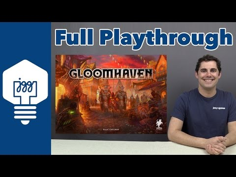Gloomhaven Random Dungeon Full Playthrough - JonGetsGames