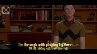 [Lyrics+Vietsub] GLEE - Defying Gravity from '100' Episode