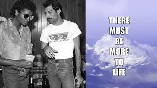 Michael Jackson & Freddie Mercury - There Must Be More To Life Than This (Lyrics)