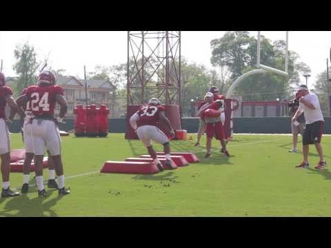 Alabama spring practice, day 4: Outside Linebackers