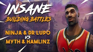 Insane Building Battles!! Ninja & Lupo vs TSM Myth & Hamlinz - Fortnite Tournament Game 2