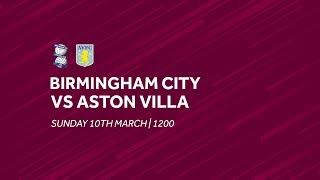 Birmingham City 0-1 Aston Villa | Extended highlights