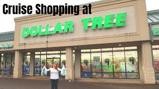 Cruise Shopping at Dollar Tree - 2019 Edition