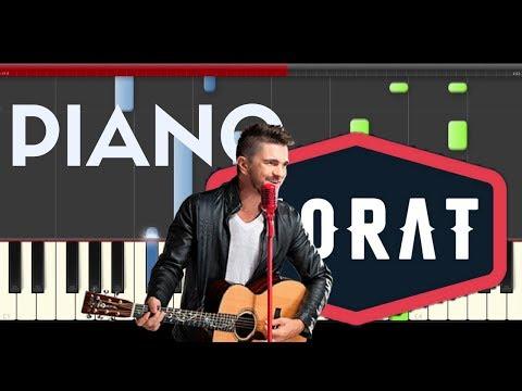 Morat Besos en Guerra  Juanes Piano Midi tutorial Sheet app Cover Karaoke