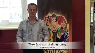 Theo & Max's birthday party