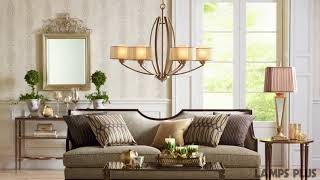 Possini Euro Alecia French Gold Chandelier