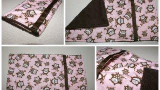 DIY - How To Make A Pocket Burp Cloth