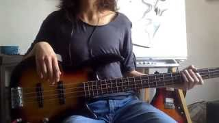 Arctic Monkeys - Space Invaders - Bass Cover