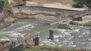 JR西日本、9路線で復旧に1カ月以上 橋桁が流出した芸備線は1年