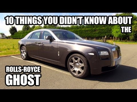 10 Things You Didn't Know About The Rolls-Royce Ghost
