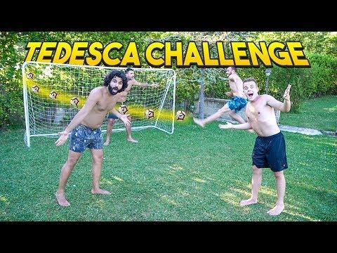 ⚽️ TEDESCA CHALLENGE w/Fius, Ohm & Enry Lazza