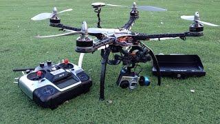 Квадрокоптер для видеосъёмки и FPV полётов по камере GoPro