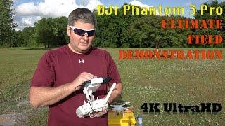 DJI Phantom 3 Ultimate Field Demonstration by IrixGuy in 4K UltraHD
