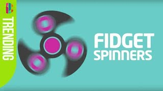 Fidget spinners are taking over!