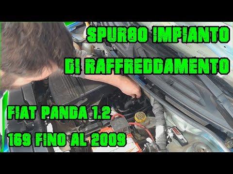 Fiat Panda 169 1.2 Fino al 2009 Spurgo Impianto di Raffreddamento