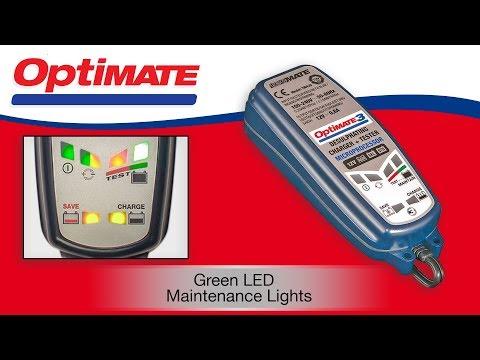 OptiMate (EN): Maintenance Mode - Green Flashing Blinking Lights?