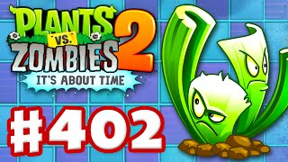 Plants vs. Zombies 2: It's About Time - Gameplay Walkthrough Part 402 - Celery Stalker! (iOS)
