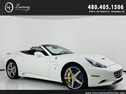 Pre-Owned 2013 Ferrari California