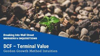 Download DCF - Terminal Value - Gordon Growth Method
