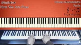 Gladiator - 'Now we are free' -- Leçon de piano
