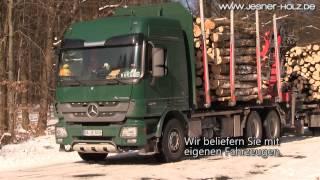 JESNER HOLZ liefert Stammholz, Rundholz, Polterholz