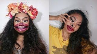 Gunakan Makeup Untuk Ciptakan Ilusi Optik, Wanita Muda Asal Filipina Ini Menjadi Sorotan