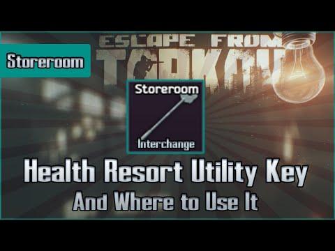 Health Utility Storeroom Key and Use Location - Shoreline