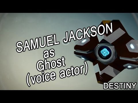 Samuel Jackson as Ghost (voice actor) – Destiny [funny]