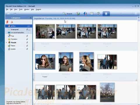 Top three photo organizing software