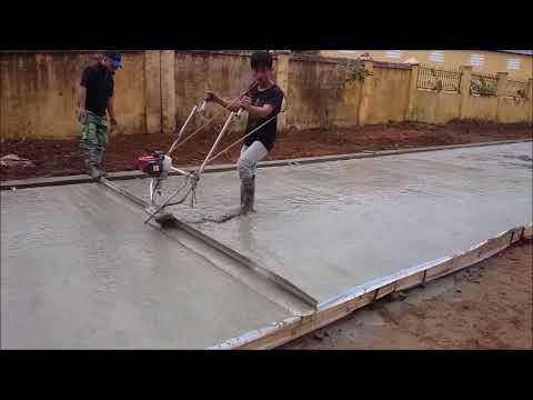 Đầm thước tạo mặt bằng bê tông