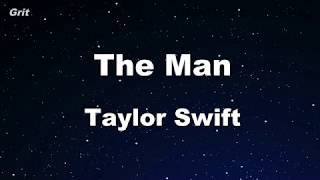 The Man   Taylor Swift Karaoke 【No Guide Melody】 Instrumental