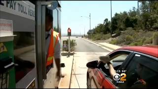 OC Toll Road Commuters Face Last Day To Pay With Cash