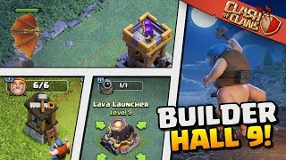 EVERYTHING You NEED TO KNOW About BUILDER HALL 9 | Clash Of Clans