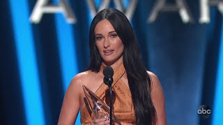 Kacey Musgraves Wins Female Vocalist of the Year at CMA Awards 2019 - The CMA Awards