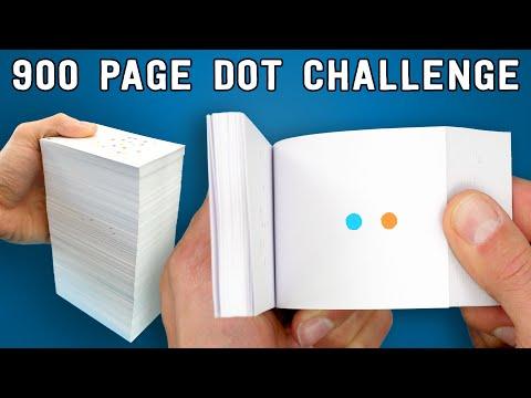 900 Page FLIPBOOK // Dot Challenge