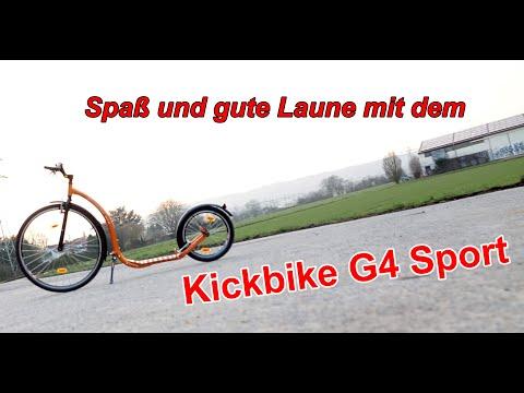 Test und Review Kickbike G4 Sport - Lust am Tretroller fahren