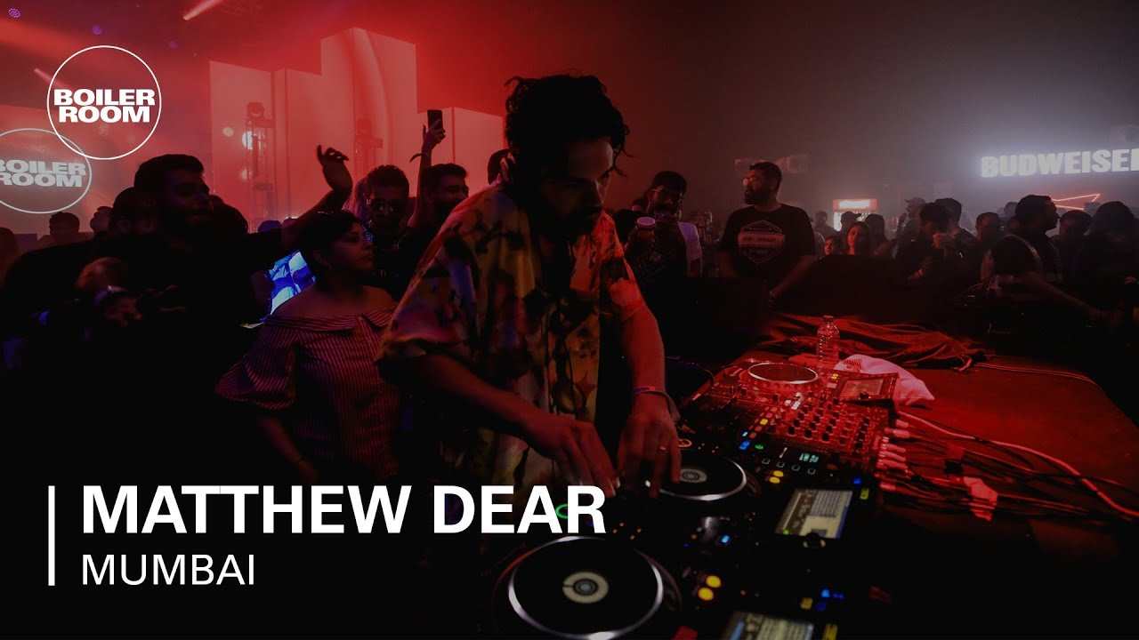 Matthew Dear - Live @ Boiler Room at Bud X Mumbai 2019