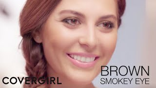 Brown Smokey Eye & Flawless Skin: Makeup Tips with Sona Gasparian | COVERGIRL