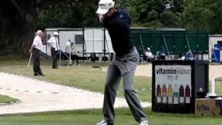 Bradley Dredge driver Open qualifier Sunningdale 7 June 2010