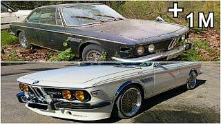 Abandoned BMW E9 Restoration project
